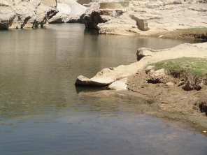 Pool at Wadi Bani Khalid